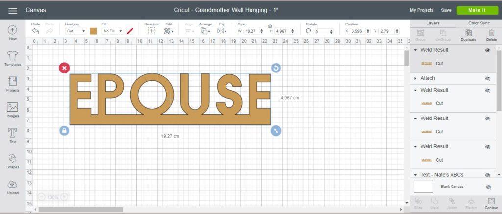 cricut design space souder tutoriel français