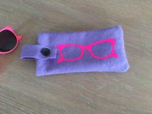 etui lunettes projet cricut design space français