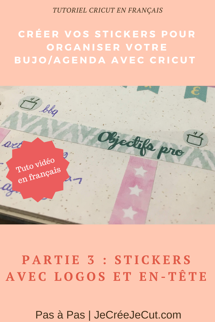 sticker pour agenda